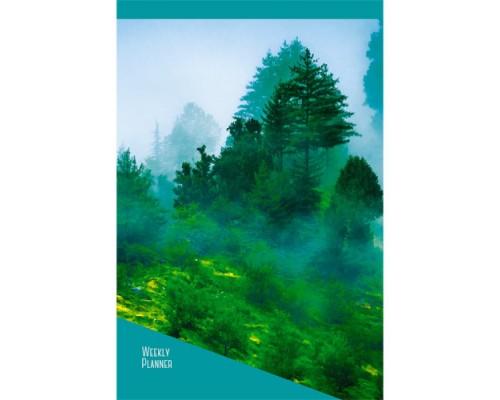 Еженедельник А5 72л.Туманный лес недат.