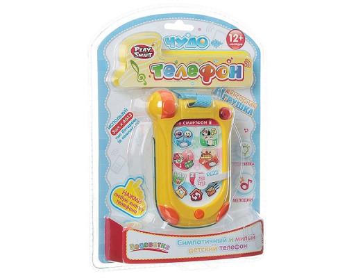 Телефон Play Smart,свет звук 7434