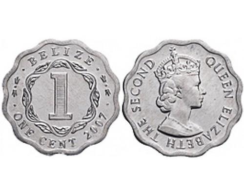 БЕЗ СКИДКИ Монета 1 цент Белиз 2007-2012