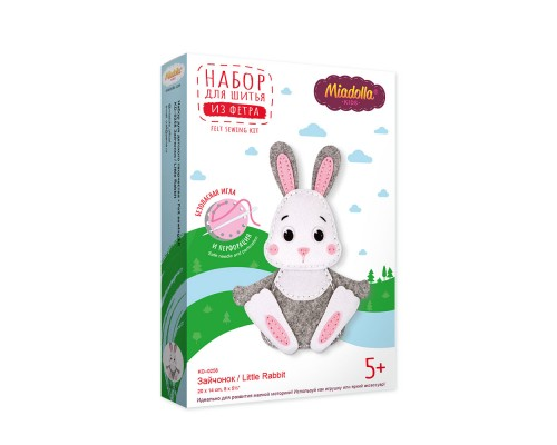 """Набор для изготовления игрушек """"Miadolla"""" Зайчонок"""