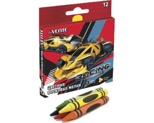 Мелки восковые 12 цветов deVENTE Racing