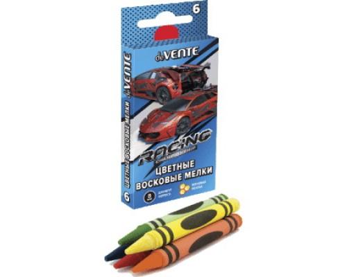 Мелки восковые 6 цветов deVENTE Racing