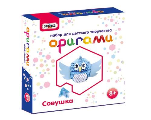 Набор для творчества Модульное оригами Совушка